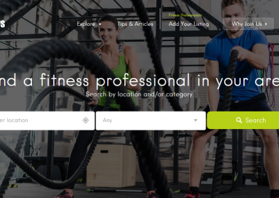 THE FITNESS FINDERS