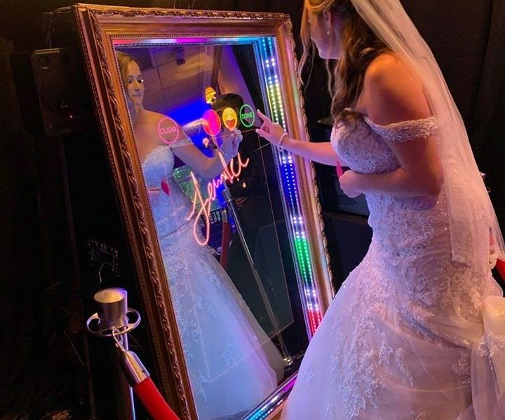 Mirror Photo Booth for Your Wedding